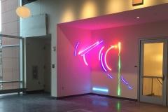 Neon Tube Installation, Stephen Antonakas